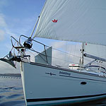 Luxury sailing yacht Inishbeg in West Cork